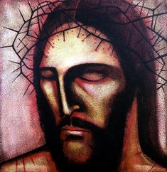 "Michael O'Brien.Artist's commentary ""Ecce homo!"", declares Pontius Pilate to the crowds in Jerusalem, after having Jesus flogged. ""Behold the man."" Look at this man. See his degradation, his utter humiliation. He accepted this for us. See beneath the hor..."