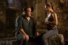 Kevin James and Zulay Henao in True Memoirs of an International Assassin (2016)