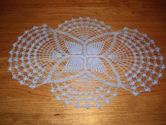 Items similar to Sweet Dreams Crochet Doily - Blue - Free Standard Shipping on Etsy Crochet Doilies, Sweet Dreams, Diy And Crafts, Crochet Patterns, Unique Jewelry, Handmade Gifts, Blue, Etsy, Vintage