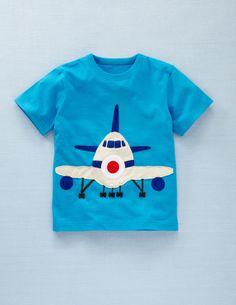 Mini Boden - T-Shirt mit Fahrzeugapplikation
