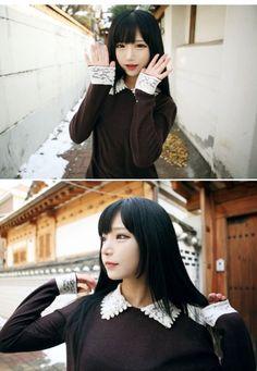 Ulzzang girl. Cute korean girl