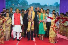 Duchess Catherine and Prince William arrive in Assam