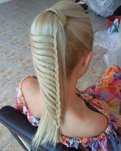 80 Amazing Fishtail Braid Hairstyles http://glamorous-hairstyles.com/80-amazing-fishtail-braid-hairstyles.html