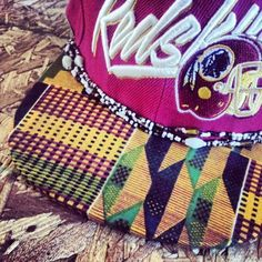 """Citizens custom """"wax cloth"""" snap backs   African Brand Based in New York"""