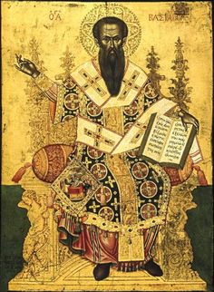 Life Synaxarion for Saint Basil the Great (Jan. The Dual Feast of St. Basil the Great and the Circumcision of Christ Encomium for. St Basil's, Russian Icons, Religious Paintings, Byzantine Art, Religious Icons, Orthodox Icons, Renaissance Art, Antique Art, Art And Architecture
