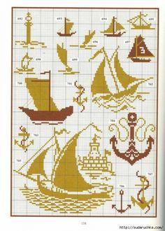 Схемы вышивки крестом монохром (ч.2) / Вышивка / Схемы вышивки крестом, вышивка крестиком