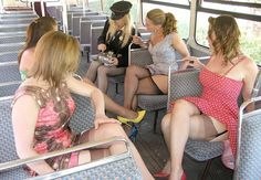 """backseam: """"The Senior Center has arranged a special """"Men Only"""" casino bus this month. It is fully subscribed. """""""