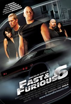 Fast & Furious 6! Cannot wait for this. Took them four tries to get it right, but they've stumbled onto a winning recipe here!