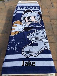 d9aa0fd89 62 Best NFL Football images | Nfl football, Beach towel, Mickey mouse