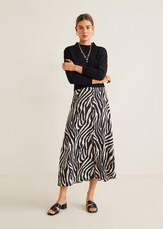 f2bc79a8705 Zebra print skirt - Woman. Юбки С ПринтомОрнамент « ...