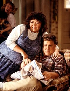 roseanne - tv couples - love 'em