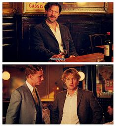 Midnight in Paris - I'm pretty sure that I would have the same expression on my face in this situation.