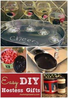 DIY Hostess Set - Frugal Holiday Gift Idea Do this Christmas 2014 for sisters & Brothers