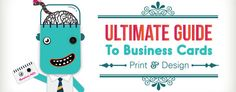 Ultimate Guide to Create Business Cards that Someone Won't Instantly Throw Away [Infographic]