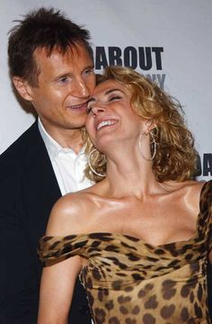 natasha richardson & liam neeson.. they were so beautiful together. so sad she died so young.