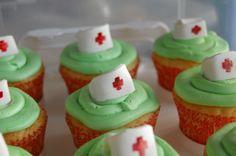 graduation cupcakes ideas | Nurse Graduation Cake Ideas Photograph | nursing school grad