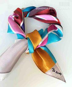 SILK SCARF - LOVE #original #silk #scarf #love  #geometry #harmony #great  #present  #shapes #colours #woman  #unique #accessories Bohemia Design, Geometry, Colours, Shapes, Silk, Woman, Unique, Creative, Stuff To Buy