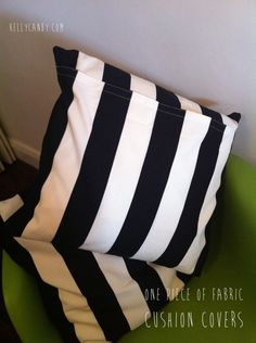 1 piece fabric cushion cover