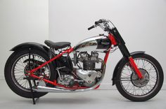 Triumph TR5 500 Flat Tracker 1953 Road Legal by Addict Motorcycle