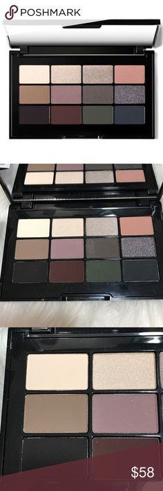 Bobbi Brown BBU Eye Shadow Palette This is a fantastic palette!  Everything you need to create a classic to smiley look with instructions on how to do it!  Large sizes of each shade. Matte to Metallic finishes. Bobbi Brown Makeup Eyeshadow