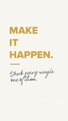 monday motivation for him Make it happen. Monday M - mondaymotivation Motivacional Quotes, Quotes Thoughts, Life Quotes Love, Woman Quotes, Quotes To Live By, Quotes Images, Quotes Women, Good Happy Quotes, Quick Quotes