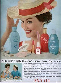 Avon,lindas idéias para o verão de 17 de junho de 1958,curtam...