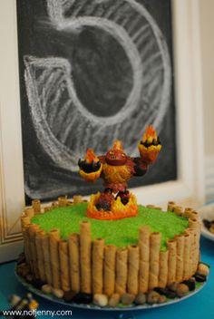skylanders cake - notjenny.com