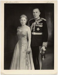 Lady May Helen Emma Abel Smith (née Cambridge) (1906-1994), daughter of 1st Earl of Athlone and Princess Alice of Albany; great-granddaughter of Queen Victoria and husband Sir Henry Abel Smith