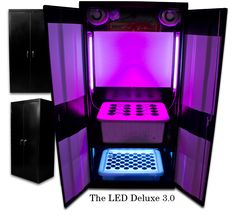 "The Super LED Grow Box is the World's #1 Selling LED grow cabinet for several reasons: This Super LED Grow Box uses ""Super LED Grow Lights""..."