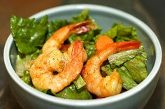 Dijon Mustard Shrimp - Recipes, Seafood, Side-Dish, Salad, Healthy Cooking, Atkins Diet, Low Carb Diet