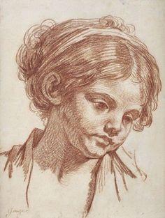 Greuze - Study of a girl - ©Regenbogen
