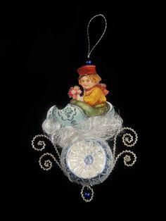 Victorian Christmas Ornament  Little Dutch Boy by SilverOwlStudio, $250.00