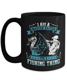 Funny fishing mug for dads on Fathers Day, Fishing fun, bass, rod and reel, funny coffee mug, funny mugs, fish stories, fishing
