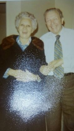 Do you see it. In the flash of a picture of my grand parents... Am I reaching?  I see it