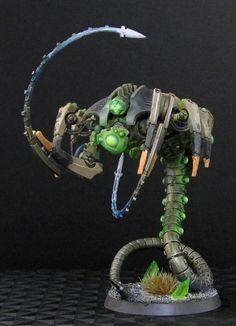 Necron - Canoptek Wraith (left front)