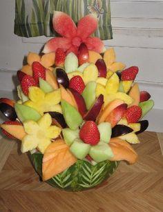 frutta intagliata - Cerca con Google