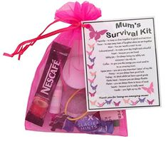 Mum's Survival Kit Gift (Great present for Birthday, Christmas or just because...)