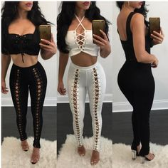 Hipster Women High Waist Party Legging