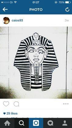 Sarcofagus egyptian tattoo draw drawing design