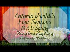 Vivaldi Spring, Black Violin, Elementary Music Lessons, Music And Movement, Music Classroom, Music Education, Four Seasons, Lesson Plans, Beats