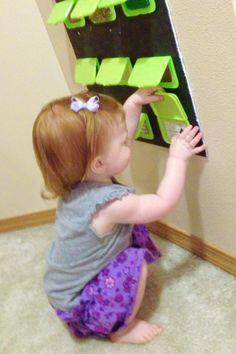 Cute sensory board
