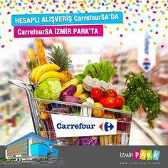 Hesaplı alışverişin tercih edilen markası Carrefoursa, İzmir'in kalbi İzmir Park'ta