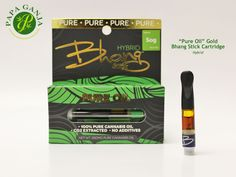 Happy Thursday friends. Save $5 today when you order 2 oil cartridges! Thses Bhang Sticks are made from 100% PURE Cannabis Oil. C02 Extracted, No Additives, No Glycols, No Glycerines. Call us today and get your cartridges before they run out!