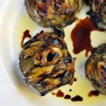 The Irresistible Grilled Balsamic Artichoke