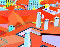 """Check out new work on my @Behance portfolio: """"The colors of the city"""" http://be.net/gallery/45884463/The-colors-of-the-city"""