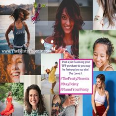 Share a photo of YOU flaunting your TFP treats and use the hashtags #TheFeistyPhoenix #StayFeisty or #FlauntYourFeisty and we will feature YOU on our social media...and maybe even our website!  Are you an influencer who wants to get our attention? This is a great way to do so! We are always excited to partner up and would love to connect. Way Of Life, All Things, Bring It On, Social Media, Hashtags, Phoenix, Connect, Treats, Boutique