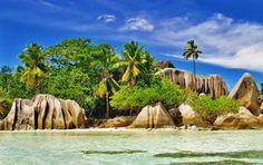 Die schönsten Sträde der Seychellen findet man auf La Digue