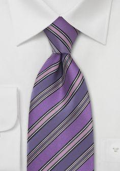 Purple Mens Ties | Mens Tie in Lavender, Purple, Pink