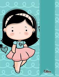 Girl Cartoon, Cute Cartoon, Mood Gif, Kids Background, Blog Backgrounds, Summer Fun List, School Clipart, Binder Covers, Wallpaper Iphone Cute