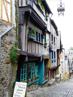 Dinan,France       #travel #places #holiday